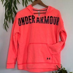 Under armor fleece lined hoodie